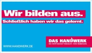 Plakat von handwerk.de