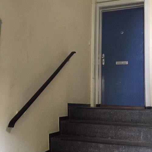 Eingangbereich eines frisch sanierten Treppenhauses
